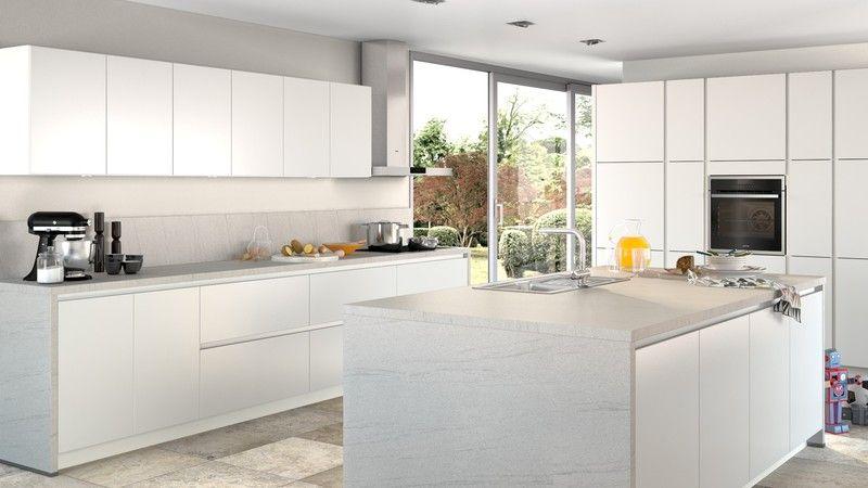 Küche selbst gestalten auf Küche aktiv, hier Arbeitsplatte