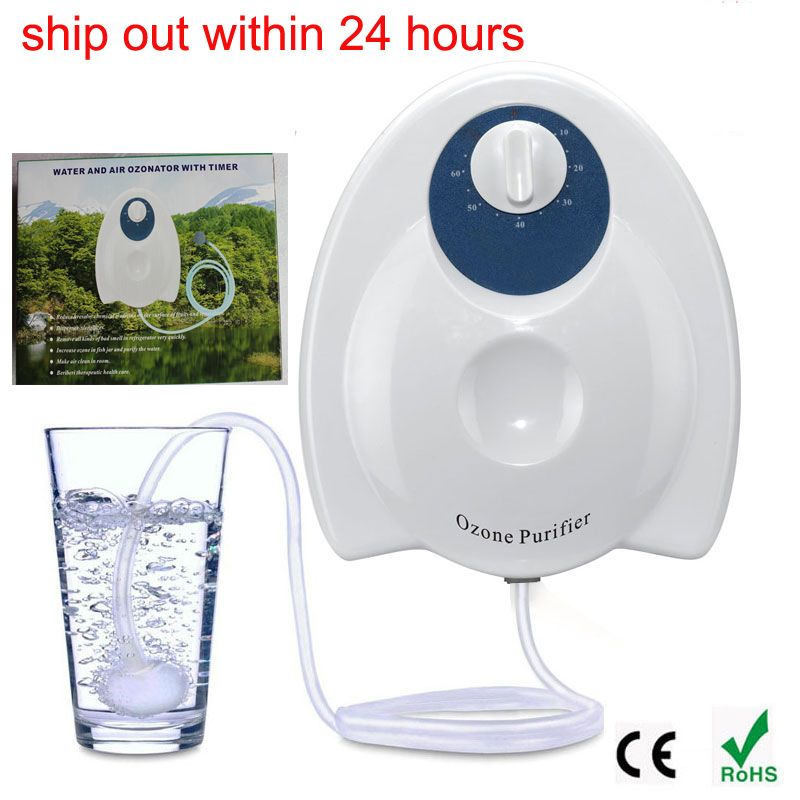 Portable Ozone sterilizer Air and Water Purifier Multifuctional Ozone  Generator AC110v for Air Purification  food Preparation  shoes 0f2efd4c8c