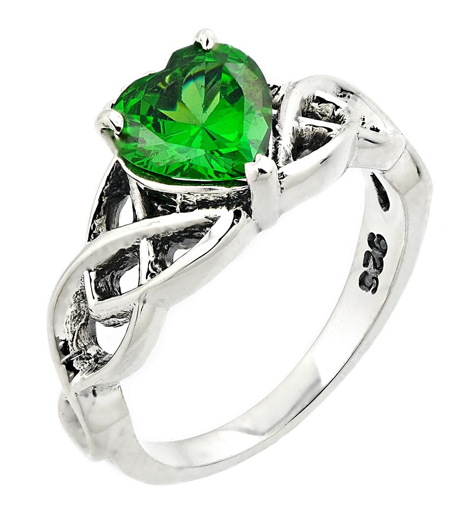 celtic ring sterling silver celtic knot with