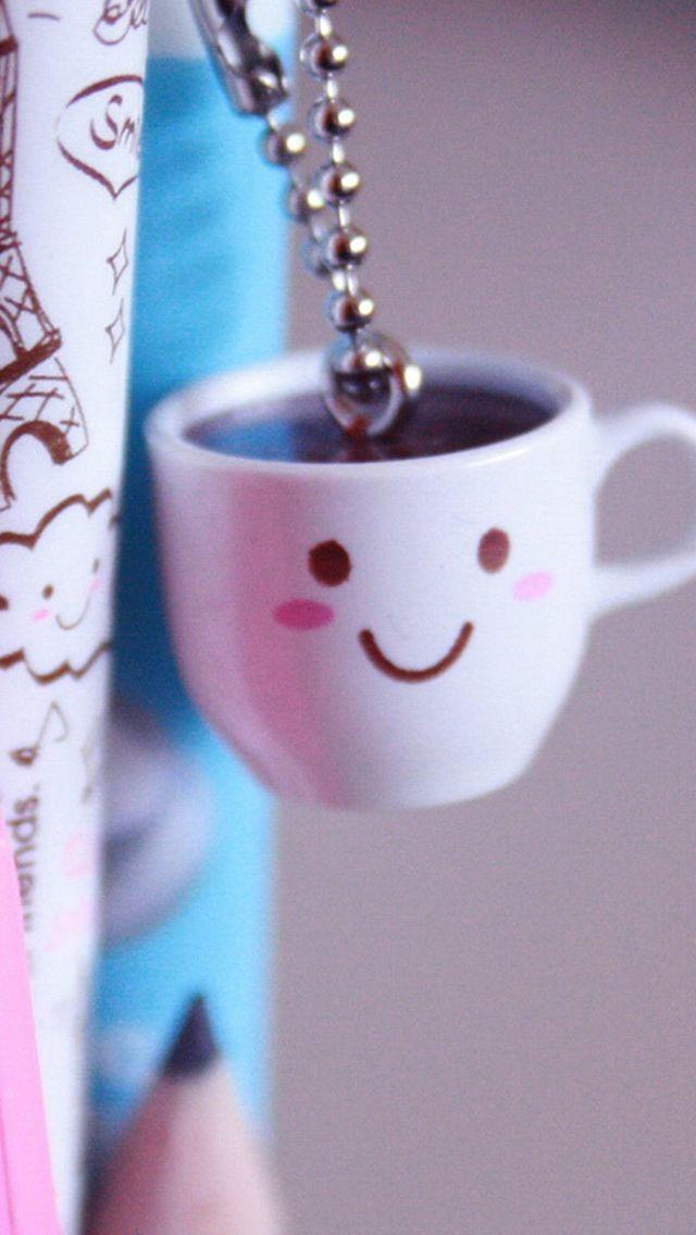 Cute coffee cup beside pen iphone 5s wallpaper iphone - Cute coffee wallpaper ...
