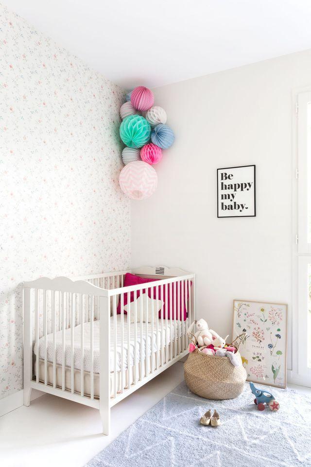une chambre pour bb lumineuse blanc dco dcoration http - Chambre Loft Bebe