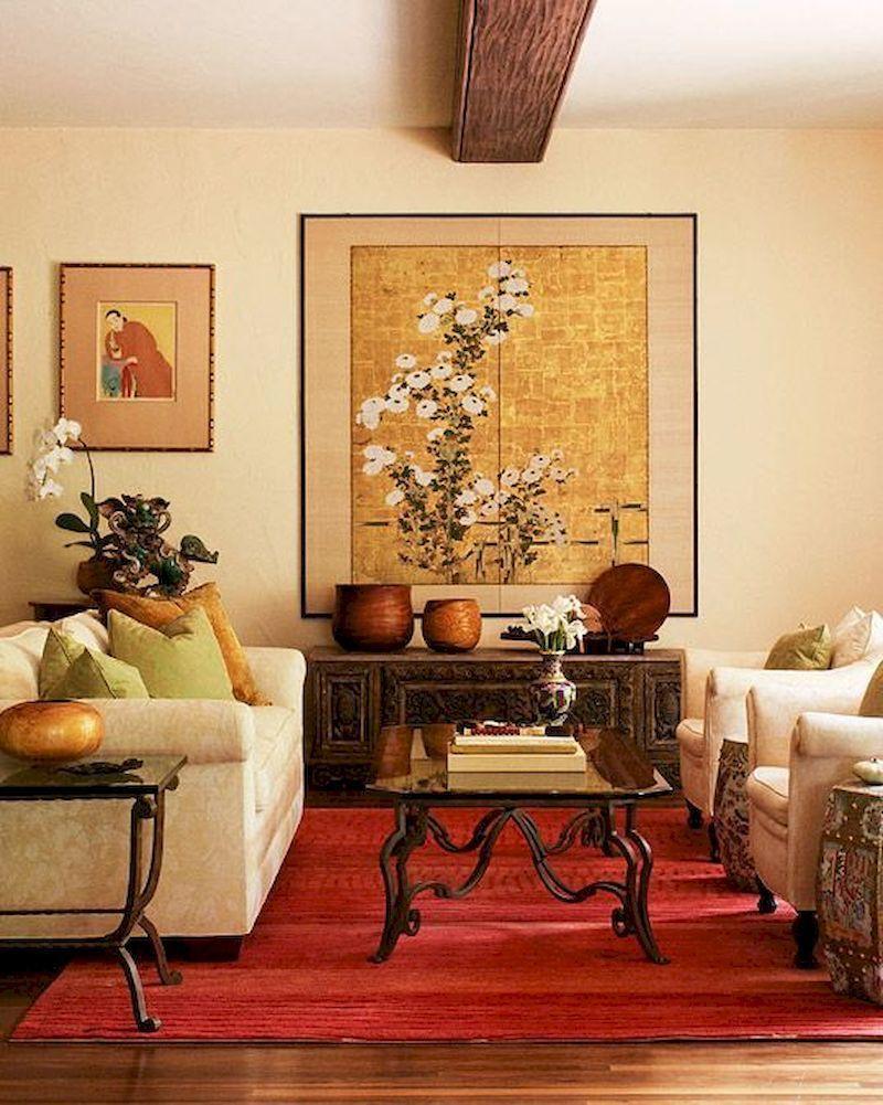 45 Impressive Chinese Living Room Decor Ideas Roundecor Asian Decor Living Room Decor Brown Couch Living Room Colors