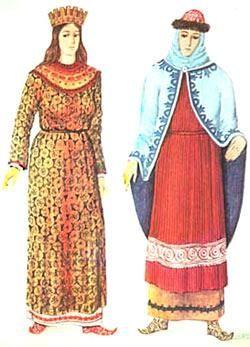 Реферат по истории костюма женские прически киевской руси  Реферат по истории костюма женские прически киевской руси