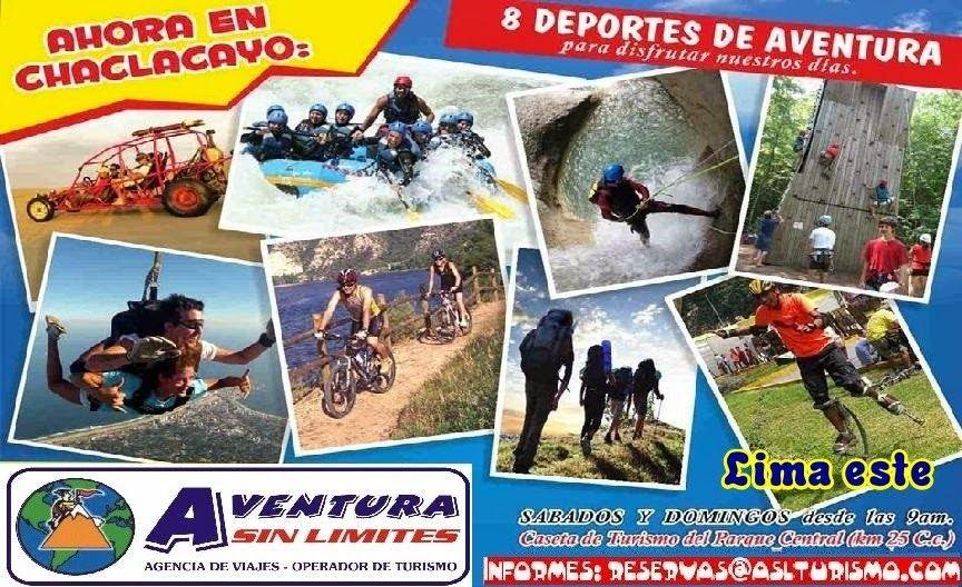 Peru turismo de aventura