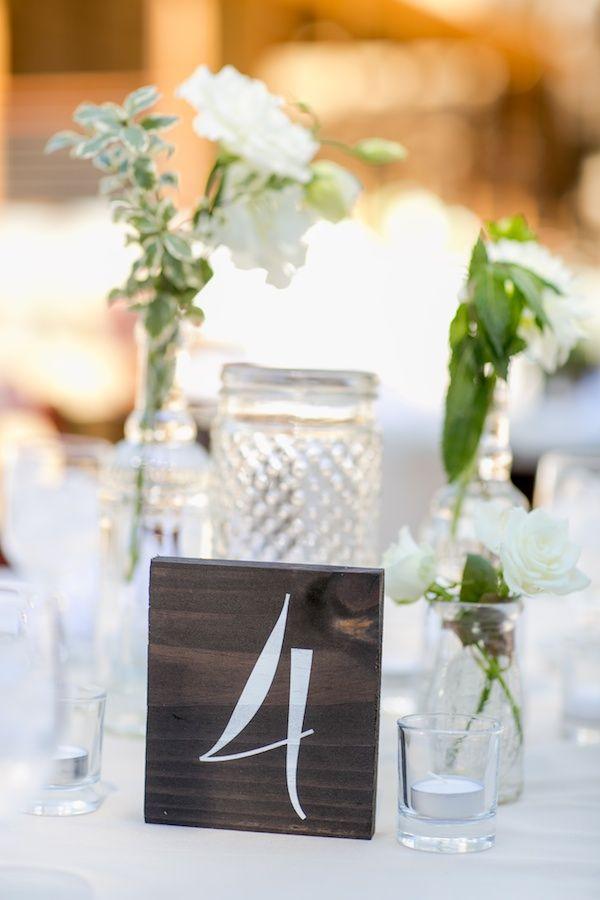 Rustic table number ideas @weddingchicks