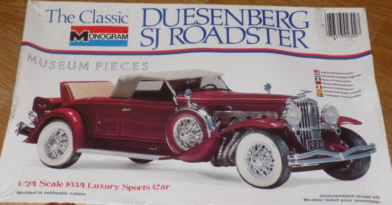 Complete Sealed 1979 Monogram Model Kit Of The Classic Duesenberg