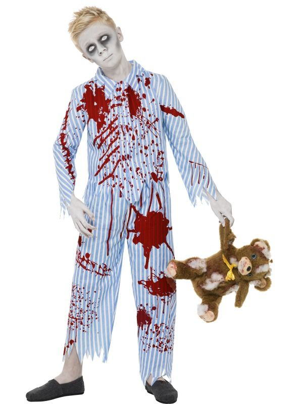 Zombie Nurse Kids Girls Halloween Fancy Dress Costume Childs Outfit