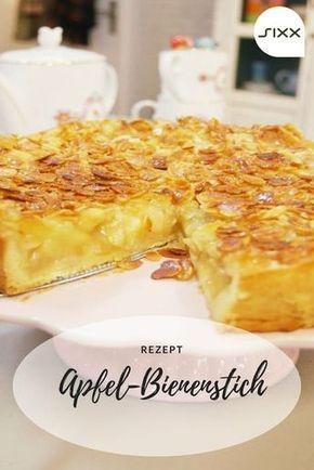 Apfelkuchen mit Bienenstichdecke #easypierecipes