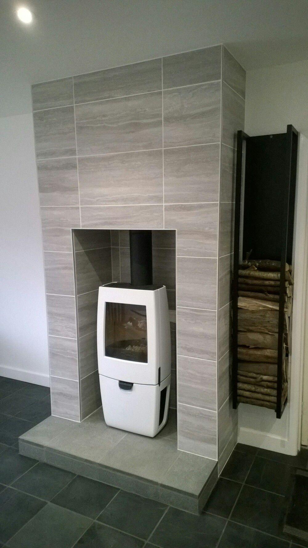 Luxury Basement Wood Burning Stove