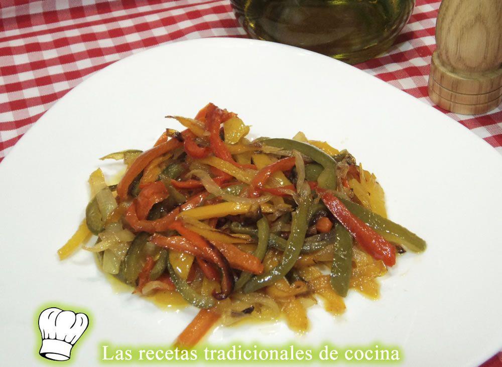 Cocina Con Sabor | Recetas De Cocina Con Sabor Tradicional Receta De Piperrada