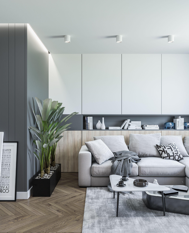 Apartment Kiev 63 Sq M 2018 Kvartirnye Idei Dizajn Serogo