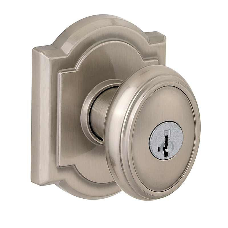 Baldwin Carnaby Entry Knob 354CYK 15 SMT from waybuild