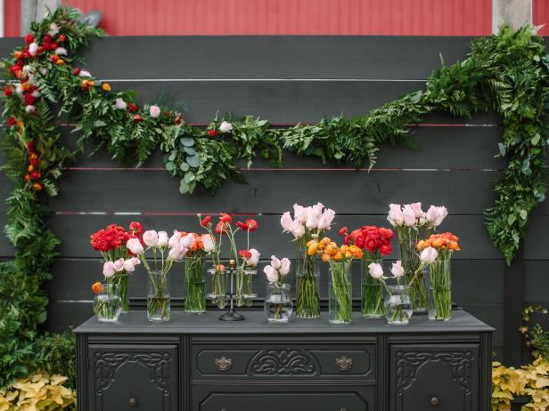 How to Make Wedding Garland With Flowers Diy wedding