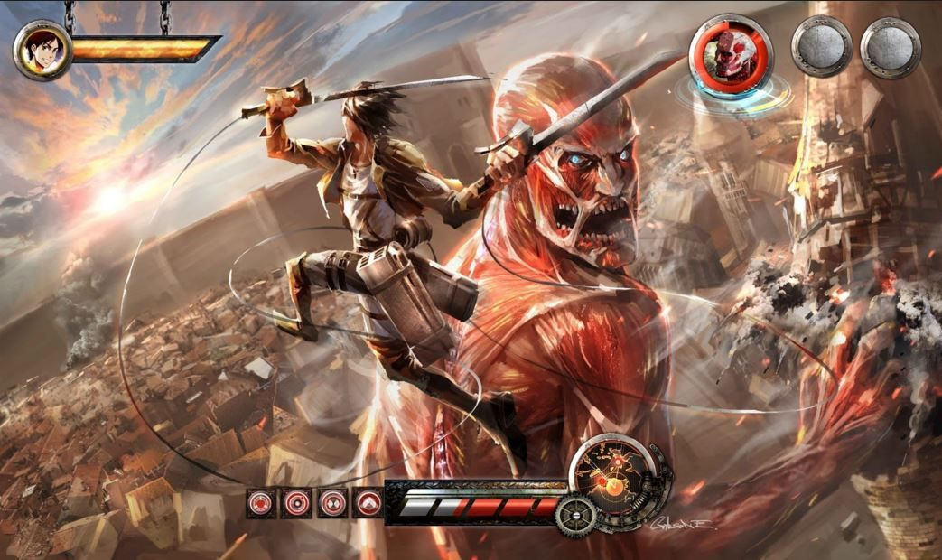 download attack on titan mod apk
