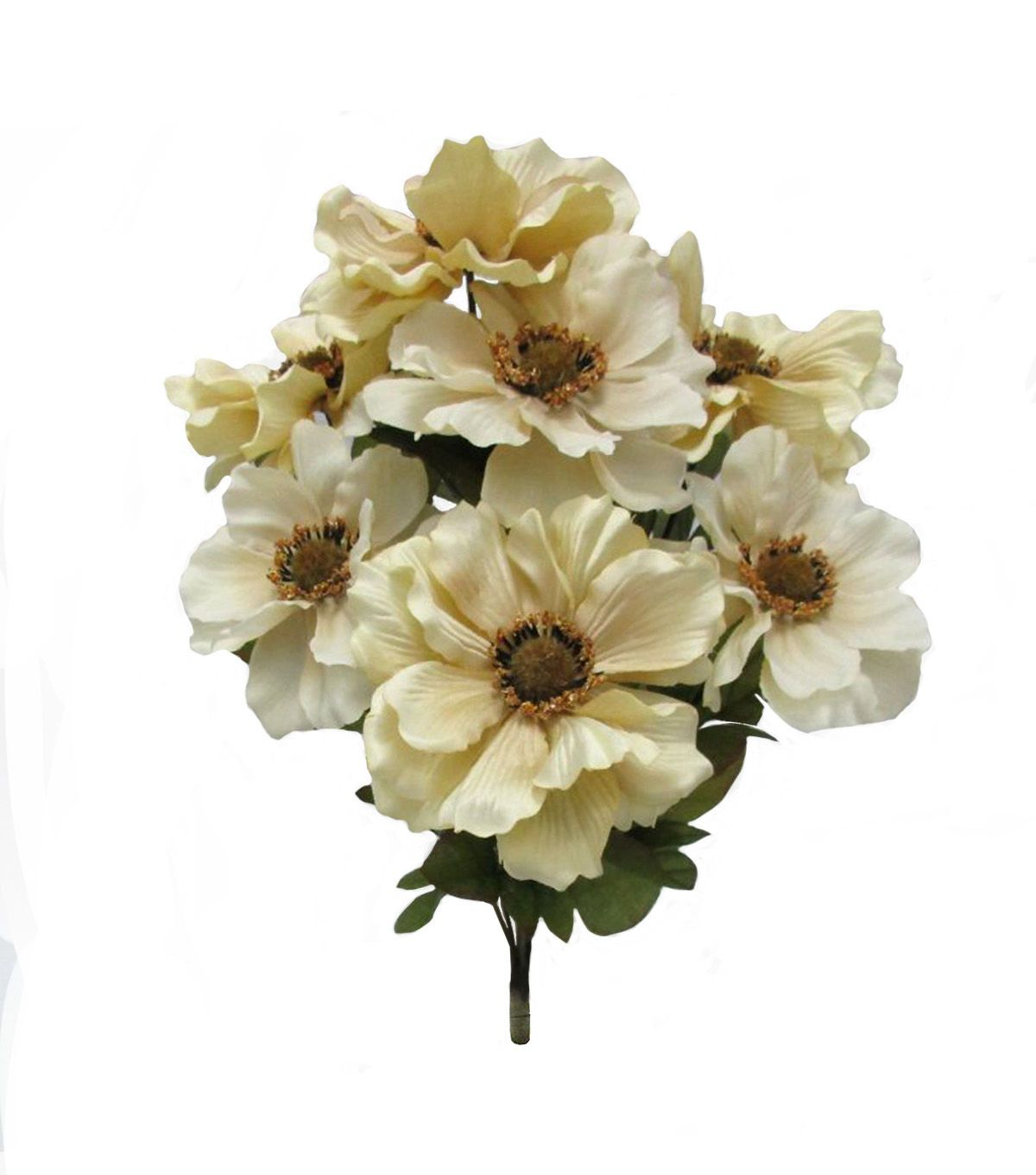 Add a quirky touch to your decor with the Blooming Autumn 17 Anemone Bush-Beige…