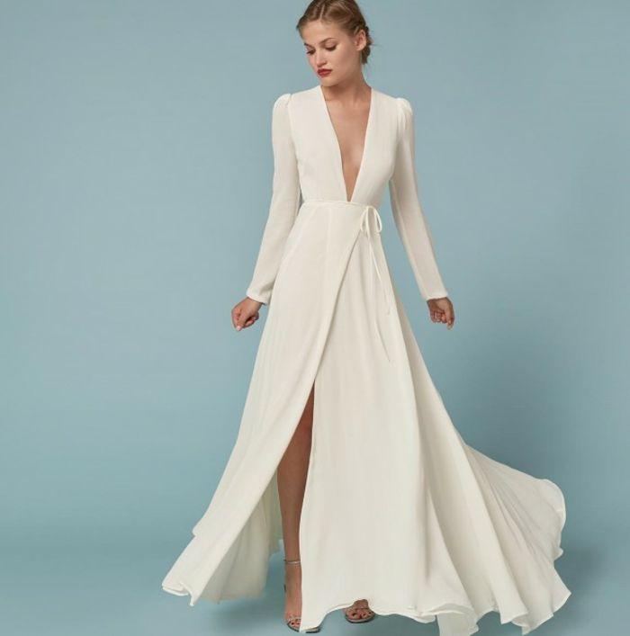 58bf6e49a96 Outfit avec robe longue boheme maxi shabiller bien robe avec fente ...
