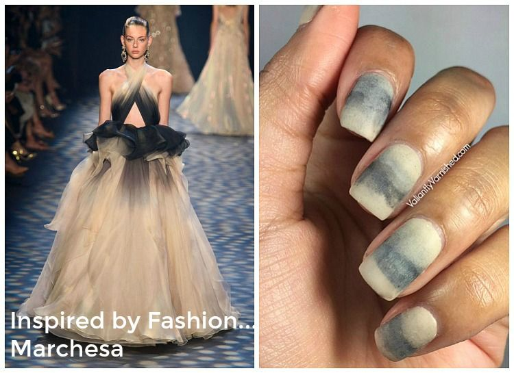 Inspired By Fashion Marchesa Spring 2017 Nail Art