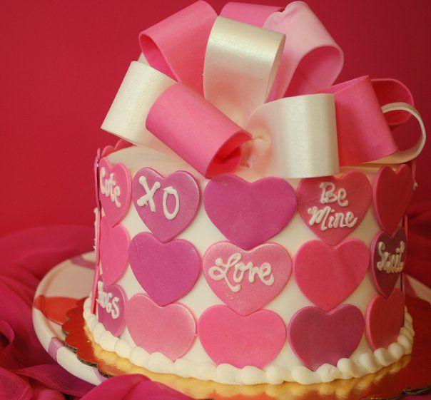 photos of valentine cakes | valentine cakes, hearts, Tamara\'s ...