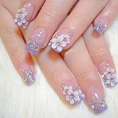 3d Nail Art Designs Acrylic 3d Nail Art Flowers 3d Nail Art Ideas 3d Nail Designs 2017 3d Nail Designs For Short Finger Nail Art Flower Nails Nail Designs