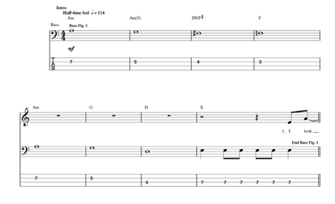 Beatles While My Guitar Gently Weeps Intro Pauls Bass Work On