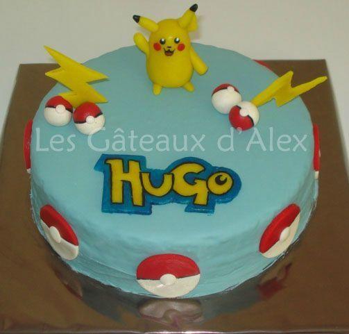 g teau pok mon pikachu 2 les gateaux d 39 alex anniversaire hugo pinterest gateau pokemon. Black Bedroom Furniture Sets. Home Design Ideas