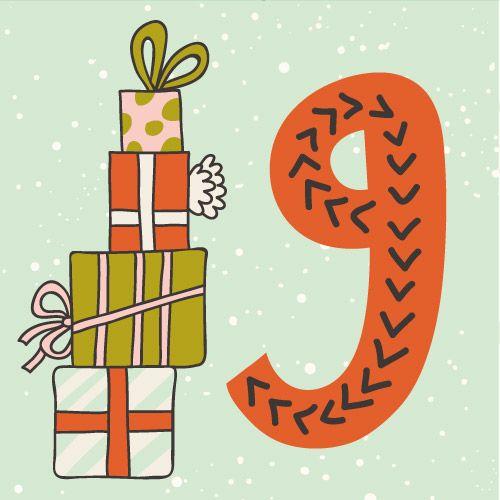 Positiivareiden joulukalenteri