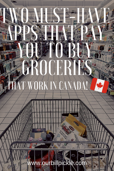 Two must have apps that will pay you to buy groceries Looking to make some money when you're grocery shopping? You'll want to check out these two cash-back apps that pay you for your grocery purchases (added bonus: they work in Canada, too!)