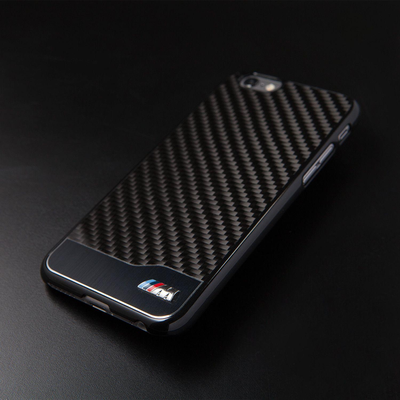 Carbon Hard Case Black Aluminum iPhone 6