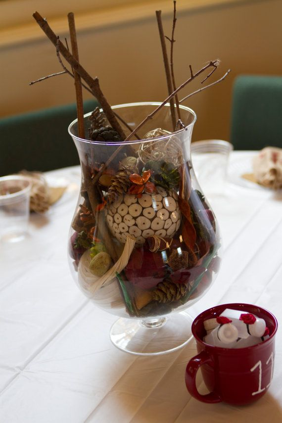 Rustic Elegant and Natural Centerpieces or by InternationalBlends, $24.00