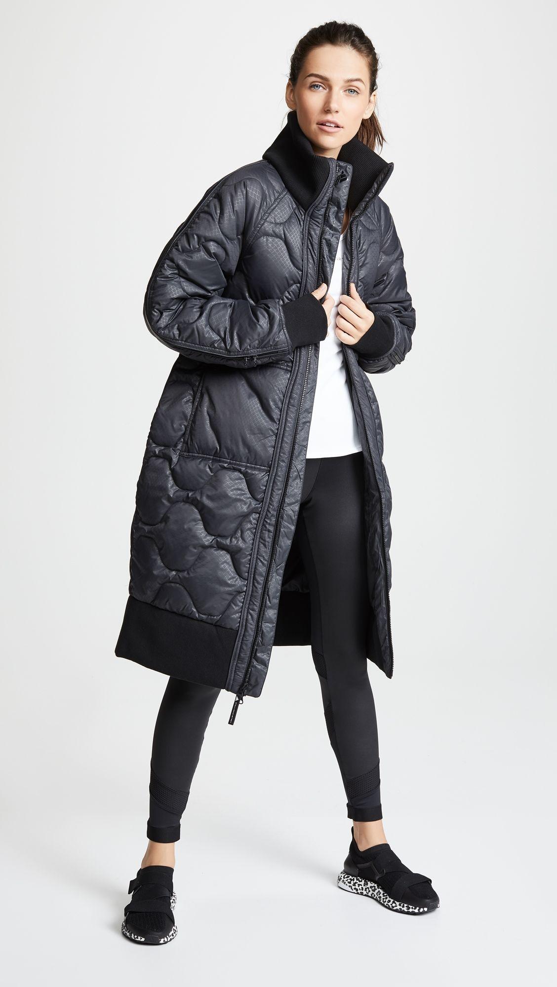 e86c7c3cd Athletic Long Padded Jacket   Products   Stella mccartney adidas ...