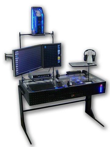 Custom computer desk plans How To Build a Custom Ergonomic ...