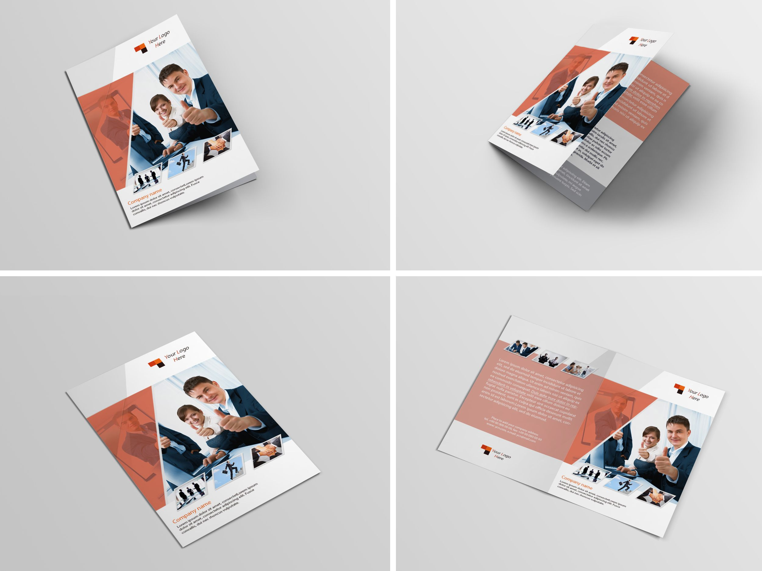 Check Out This Behance Project Sample Corporate BiFold