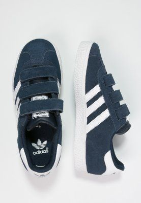 adidas Originals GAZELLE 2 - Sneaker - core navy/white - Zalando.de