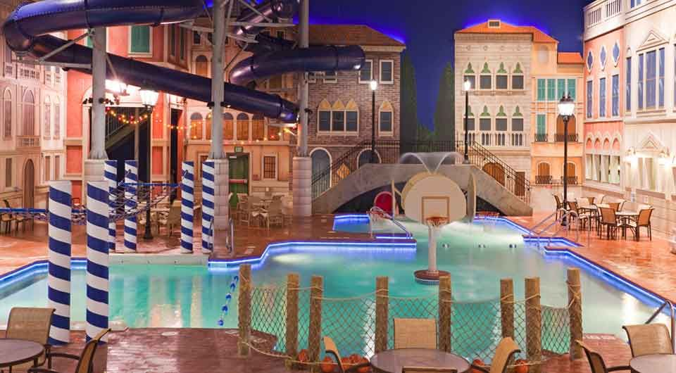 venetian indoor waterpark at holiday inn in maple grove mn. Black Bedroom Furniture Sets. Home Design Ideas