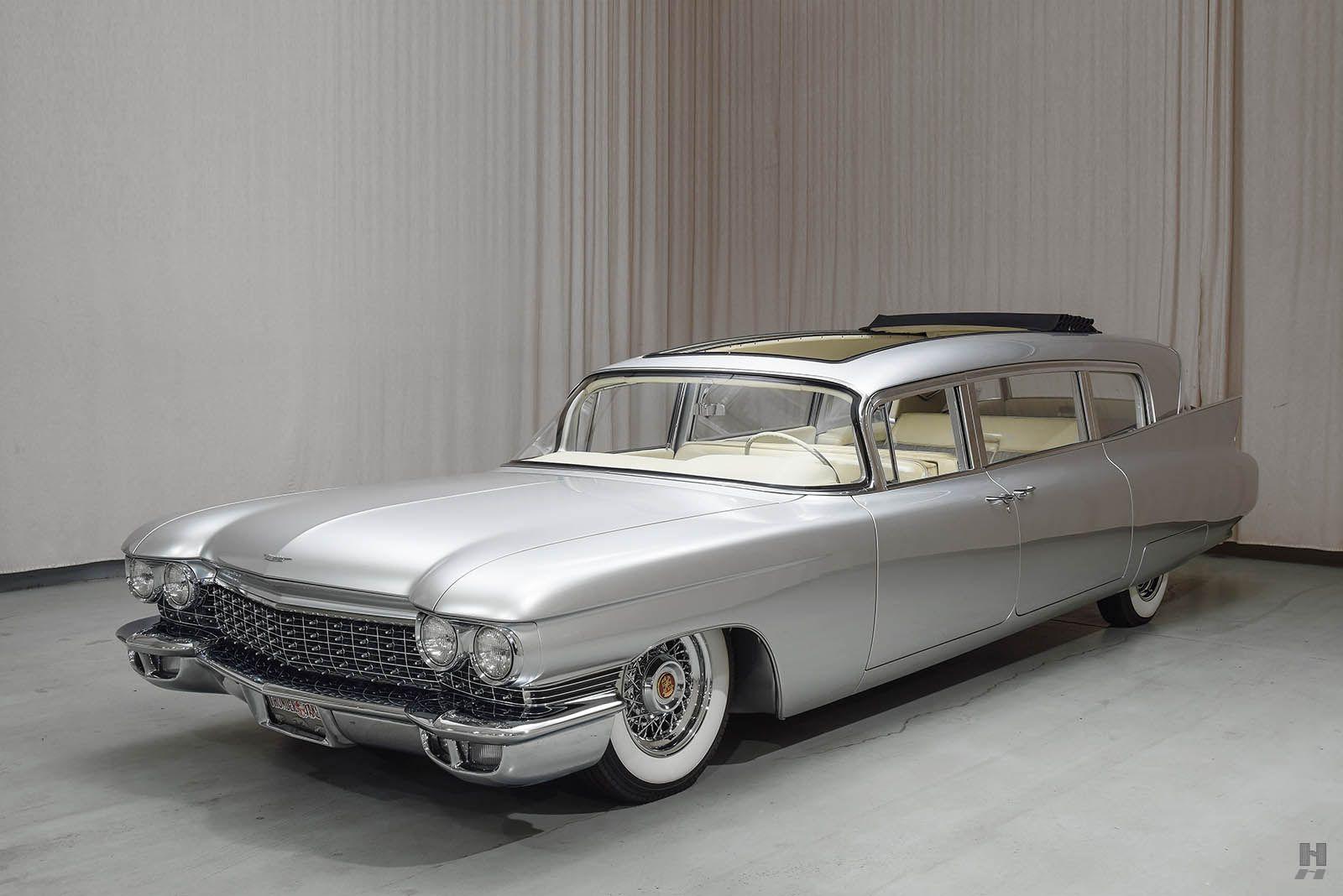 1960 Cadillac Fleetwood Custom Limo - Hyman Ltd. Classic Cars ...