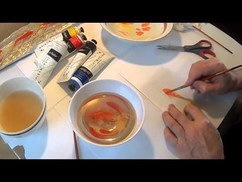 Goldfish D Painting In Resins LAYERS EXPLAINED YouTube - Incredible 3d goldfish drawings using resin