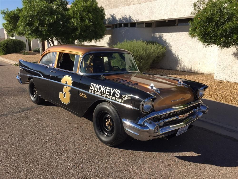 1957 CHEVROLET 210 CUSTOM - Barrett-Jackson Auction Company ...