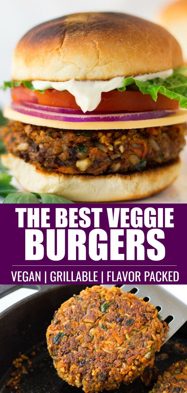The Best Veggie Burger Recipe Easy To Make And Totally
