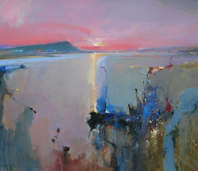 art, abstract paintings, oil painting, landscape, painting light, colour, originals,seascape, Royal Institute of Oil Painters, Royal Society of Marine Artists, Fine Artist