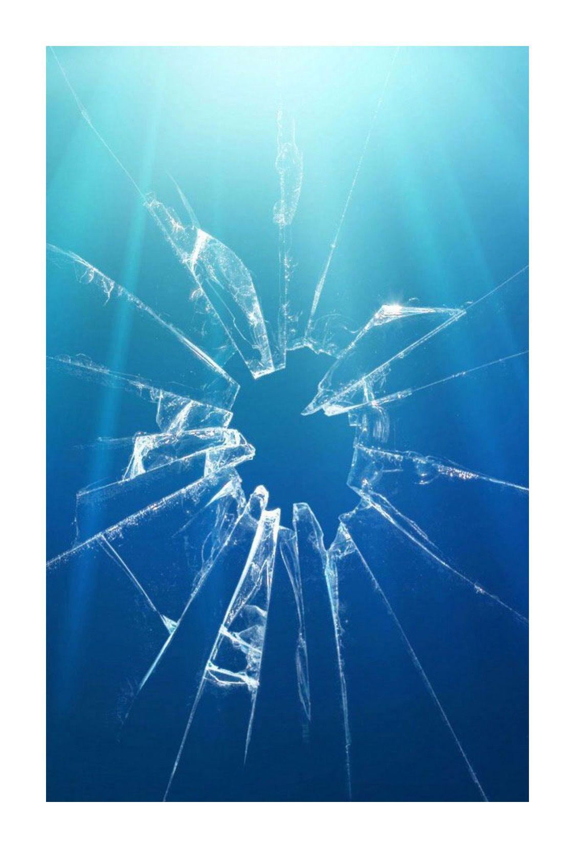 January Bee Inspired 2018 Broken Screen Wallpaper Broken Screen Broken Glass Wallpaper