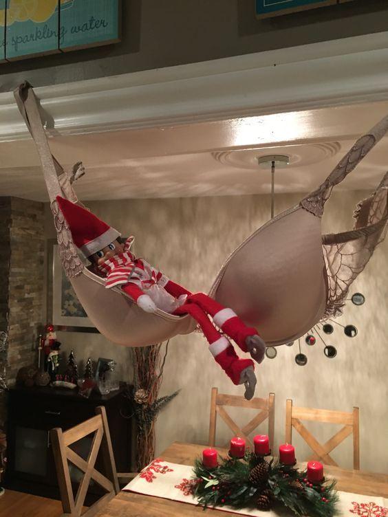 Funny and Easy Elf on the Shelf Ideas for Kids #elfontheshelfideas