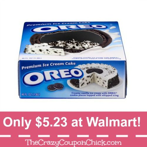 Oreo Ice Cream Cake The BIG One Only 523 At Walmart Reg 15