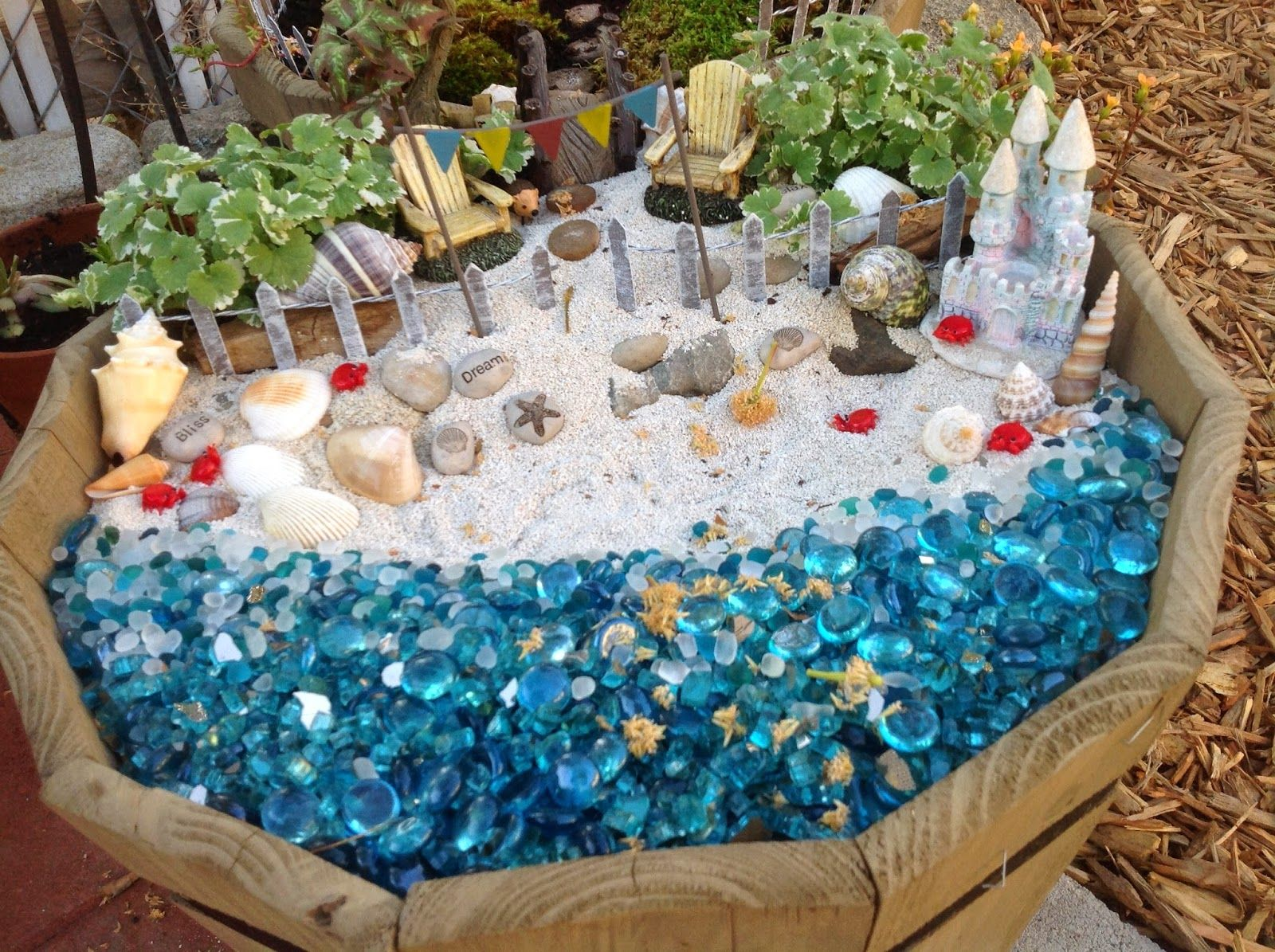 Grandmau0027s Enchanted Fairy Garden: August 2014