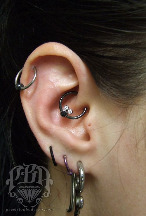 Daith Piercing By Ryan Ouellette Precision Body Arts In Nashua New Hampshire Other Stuff Not By Me Daith Piercing Body Jewelry Piercing Body Art