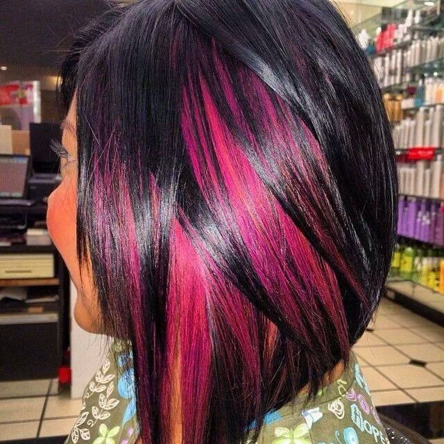 Gasps!! Wannnttt! Black with pink peek a boos