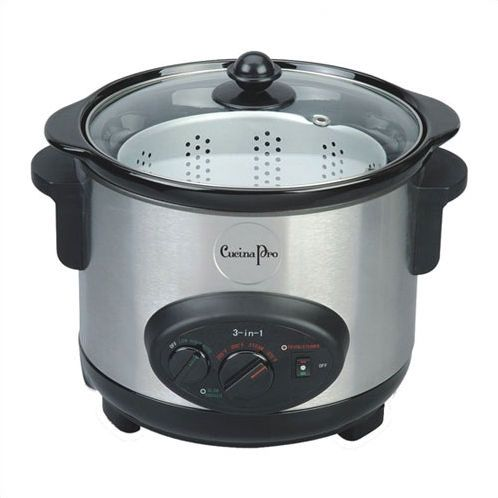 Cucinapro 3 In 1 Cooker On Donate List Slow Cookers Small Slow