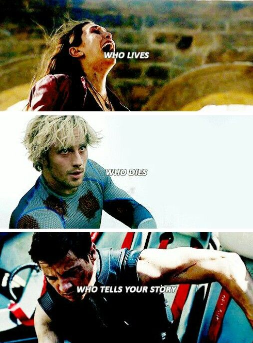 Scarlet Witch, Quicksilver, and Hawkeye #Avengers #ageofultron #marvel tumblr
