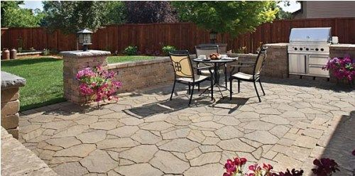 Beau Backyard Deck And Patio Ideas Wth Stone Backyard Deck And Patio Ideas For  Wonderful Outdoor Space