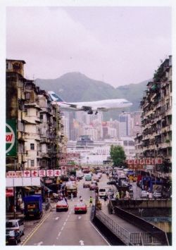 The famous (or infamous) Kai Tak International Airport, Hong Kong, had one of the most challenging, exciting and hair-raising airplane landings...