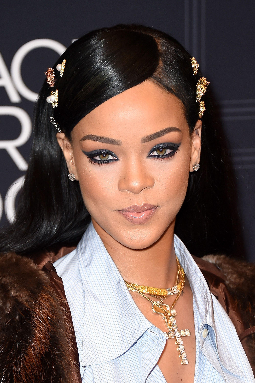 Rihanna Rihanna Makeup Rihanna Makeup Line Bold Makeup Looks